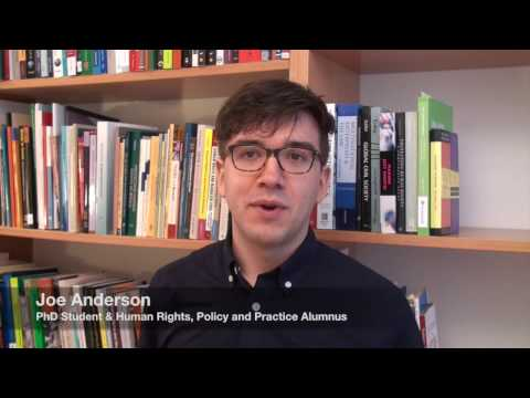 Master's Programme in Human Rights, Policy & Practice