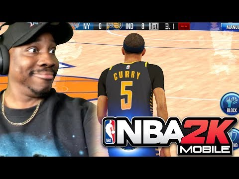 PLAYING ON ANDROID For The 1st Time! NBA 2K Mobile Gameplay Ep. 27