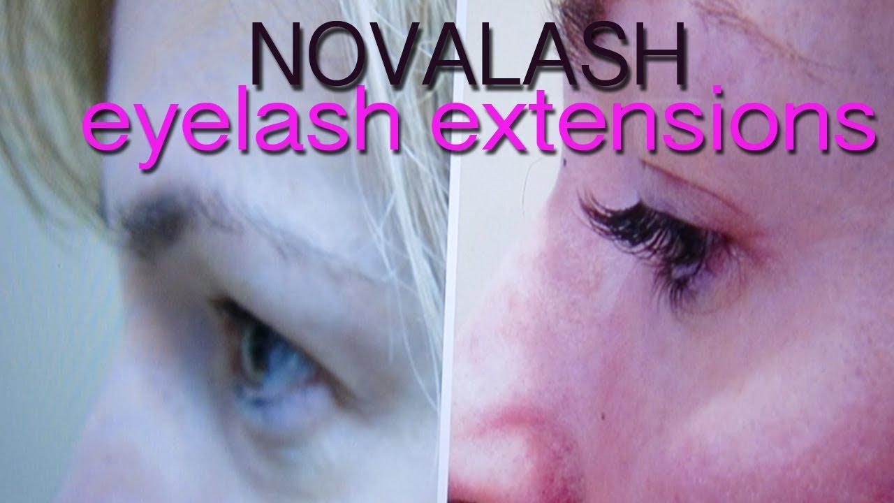Eyelash Extensions By Novalash Youtube
