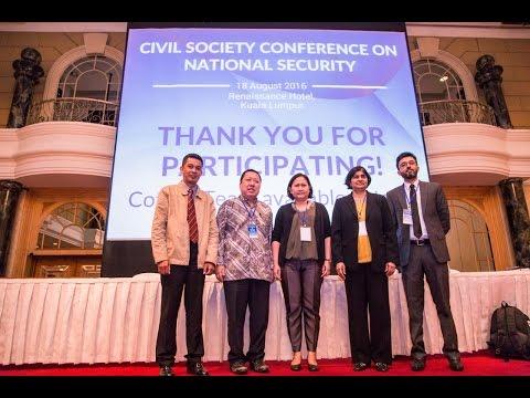 Ambiga Sreevanasan: Human Rights, Democracy & The National Security Council Act (NSC) 2016