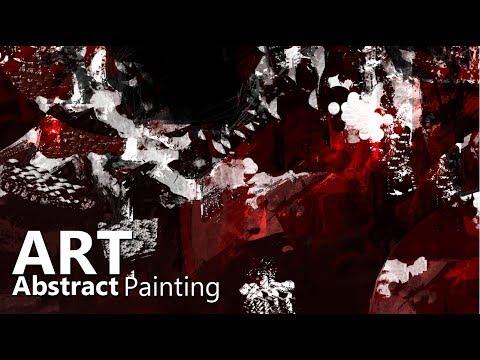 Digital Abstract Art  | Digital painting ~  Digital Brush Canvas