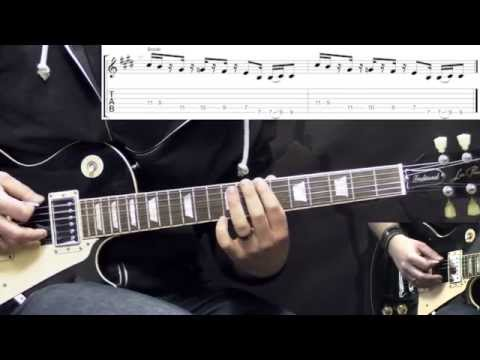 Black Sabbath - Iron Man - Metal Guitar Rhythm Lesson (with Tabs)