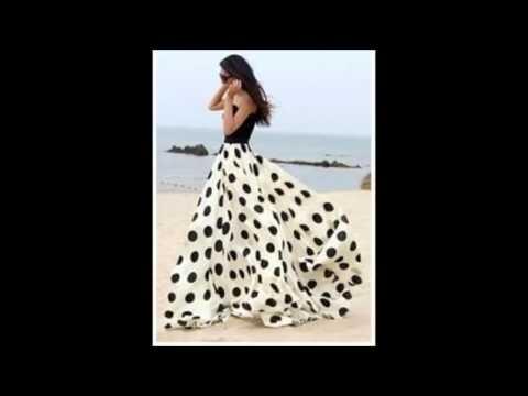 058e3986d9 faldas bonitas moda 2016 - YouTube