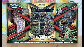 Opening A Mega Tyranitar Premium Collection Box!!