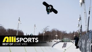 Progression of Louie Vito - Best of Vito Pipe Snowboarding - Winter Dew Tour 2010-2012
