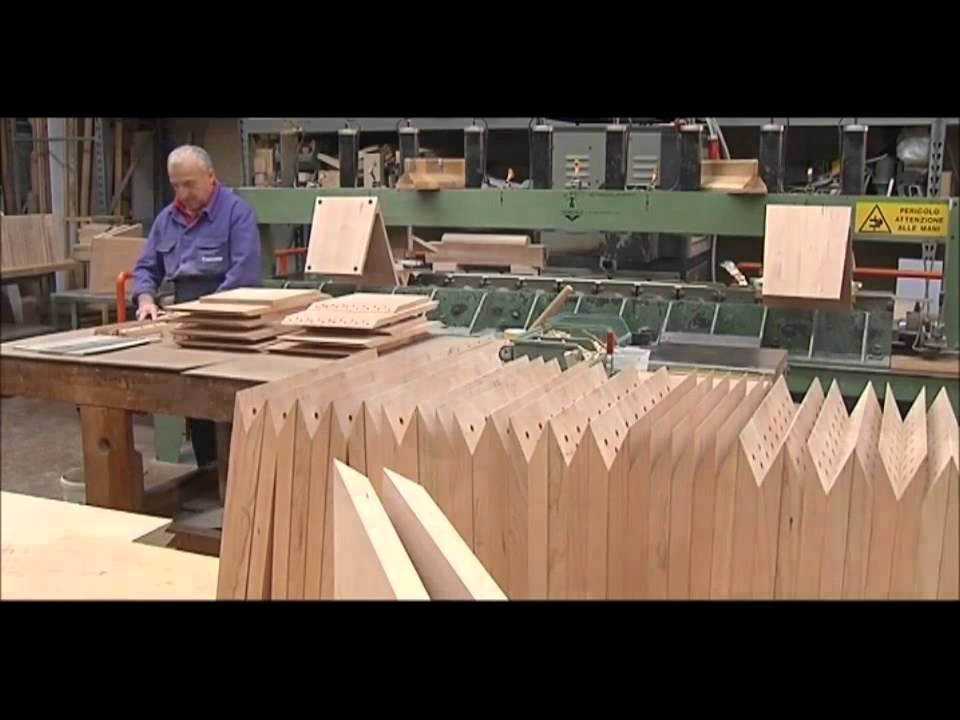 & The making of: Gerrit Rietveld Zig Zag chair by Cassina - YouTube