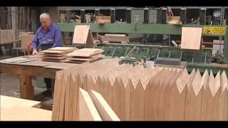 The making of: Gerrit Rietveld Zig Zag chair, by Cassina