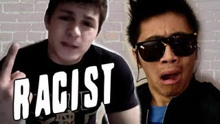 Chinese Guy RESPONDS to Extremely Racist Indiana Kid
