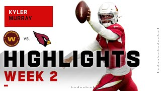 Kyler Murray Takes Over w/ 3 Touchdowns & 353 Total Yds | NFL 2020 Highlights