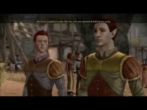 Dragon Age: Origins (Alternate Origins): Male City Elf Part 1