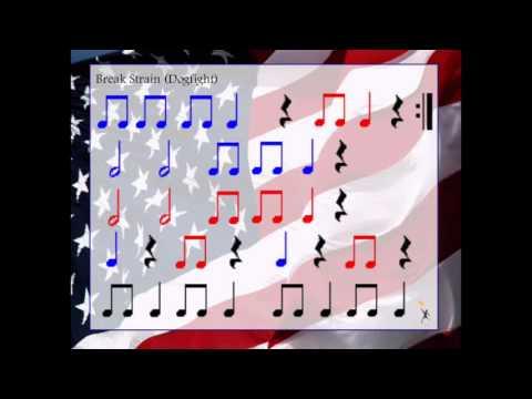 Stars and Stripes Forever Rhythm Playalong