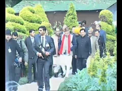 PM Shri Narendra Modi visits organic product park in Sikkim