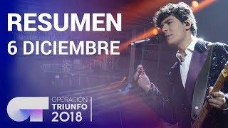 Resumen diario OT 2018 | 6 DICIEMBRE