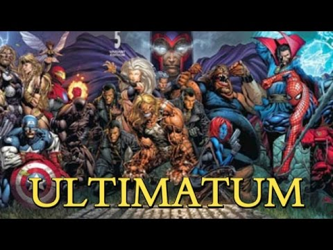 ULTIMATUM - LA PEOR MASACRE DE MARVEL - VENGADORES - X MEN - alejozaaap