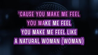 (You Make Me Feel Like) A Natural Woman (Karaoke Version) - Bonnie Tyler | TracksPlanet