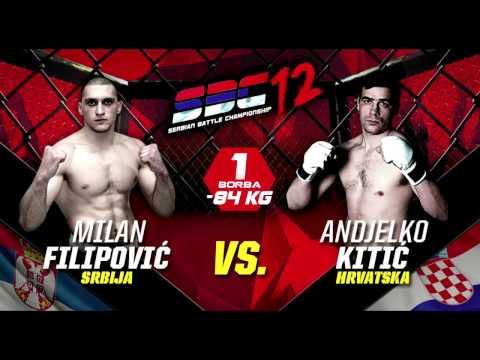 SBC 12 -Milan Filipović vs Andjelko Kitić  - HIGHLIGHTS - Serbian Battle Championship
