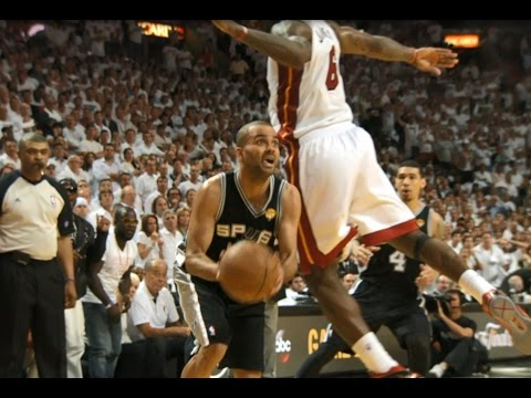 Best Spurs Play in the Postseason Each Year (1999-2016)