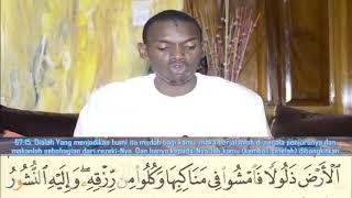 067 Surah Al Mulk   Sheikh Muhammad Hady Toure