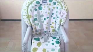 Обзор детского стульчика для кормления Chicco Polly Progres5