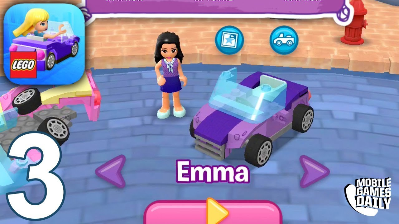 Lego Friends Heartlake Rush Gameplay Part 3 Emma Gameplay Ios