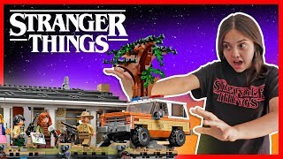LEGO Stranger Things 3 Juguetes de Stranger Things EXCLUSIVO SET  LEGO 75810 The Upside Down