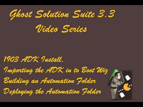 Ghost Solution Suite 3 3 video series, Installing the winPE