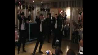 Shocking Greatest Surprise Wedding Dance - Thriller in Black - OMG
