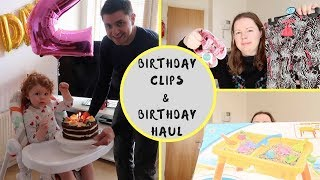 TODDLER BIRTHDAY PARTY & SPRING 2018 CLOTHING HAUL