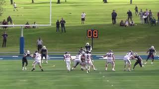 Williams quarterback Bobby Maimaron throws TD on final play of game