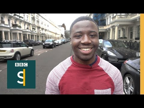 Reggie went to London's richest area to find out how people made their fortune - BBC Stories
