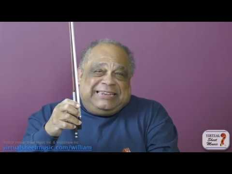 How to Hold the Bow on the Violin - Violin Lesson