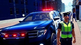 Dicke Knarren Neues Auto - Police Simulator Patrol Duty Gameplay German