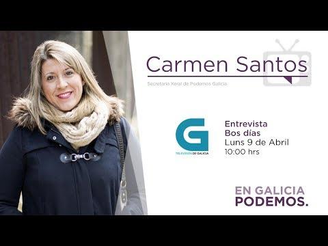 Entrevista Bos dias TVG - Carmen Santos - 09042018