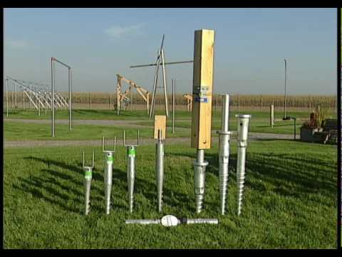 Krinner Ground Screws - THE foundation system for solar projects