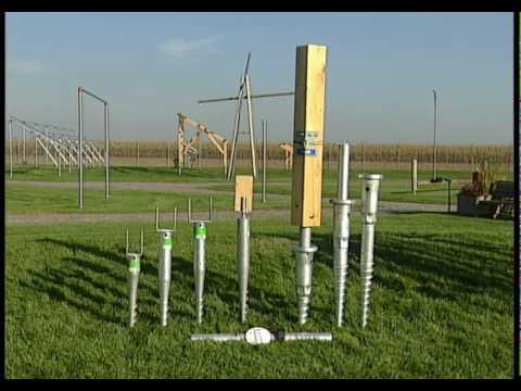 Krinner Ground Screws The Foundation System For Solar