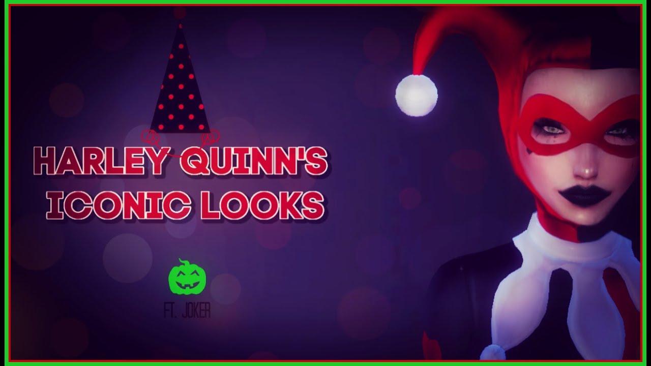 [VIDEO] - HARLEY QUINN'S ICONIC LOOKS | Ft. JOKER 7