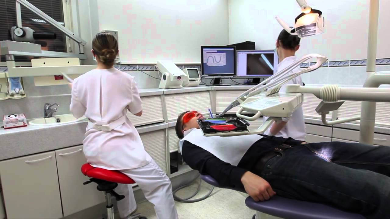 Salli Saddle Chair in dental care - YouTube