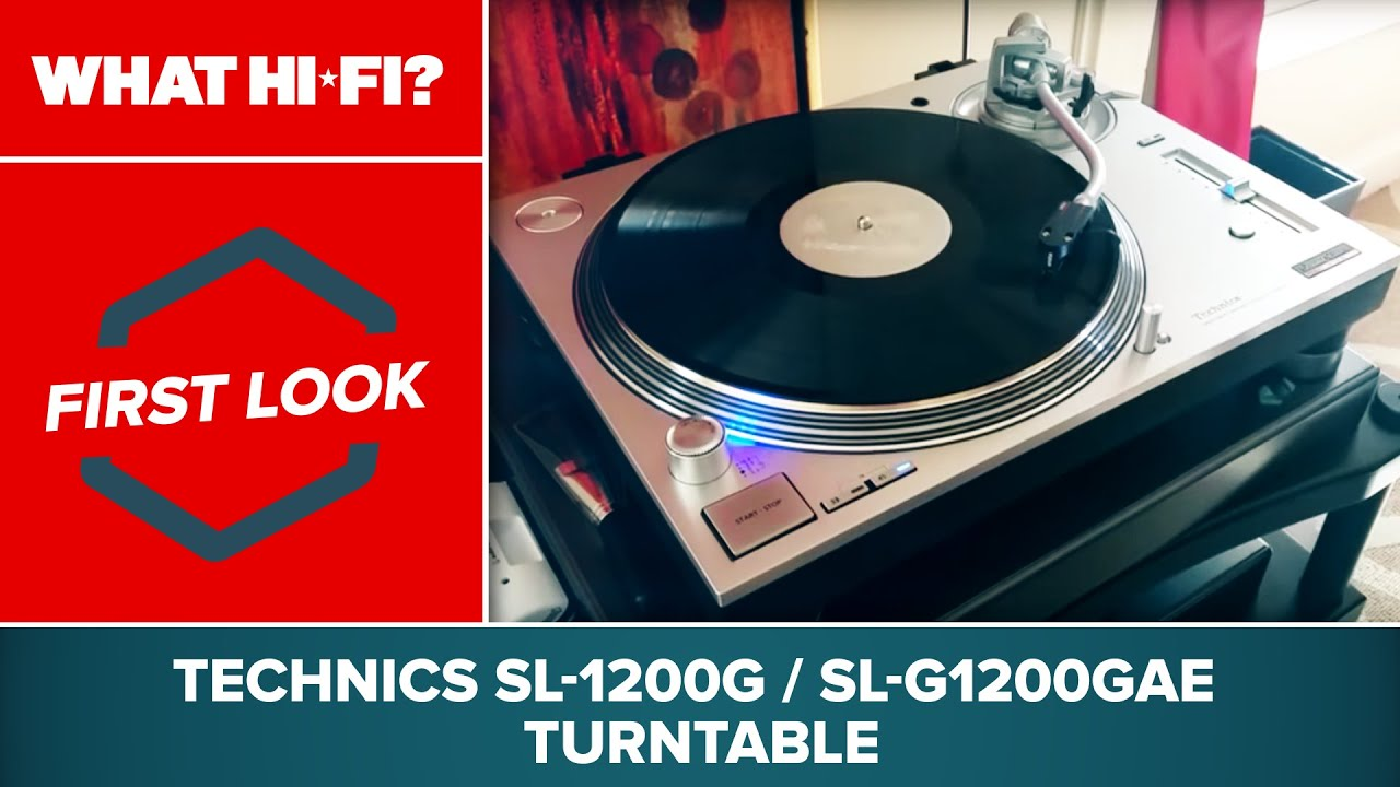 technics sl 1200g sl g1200gae turntable first look at ces 2016 youtube. Black Bedroom Furniture Sets. Home Design Ideas