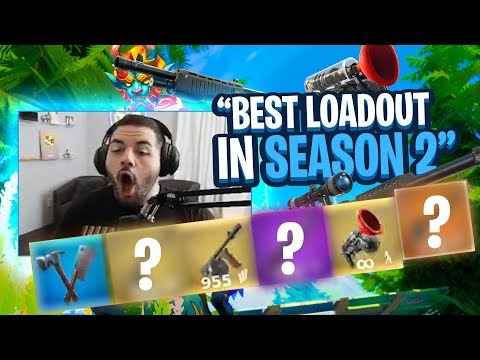 IS THIS THE BEST LOADOUT IN FORTNITE SEASON 2?! ALL MYTHIC ITEMS! (Fortnite: Battle Royale)