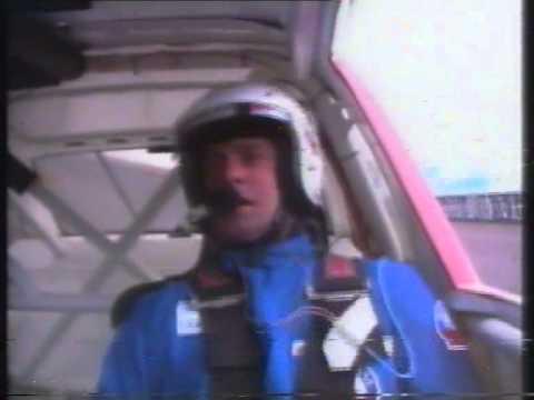 Brad Jones takes Simon O'Donnell around the Calder Park Thunderdome