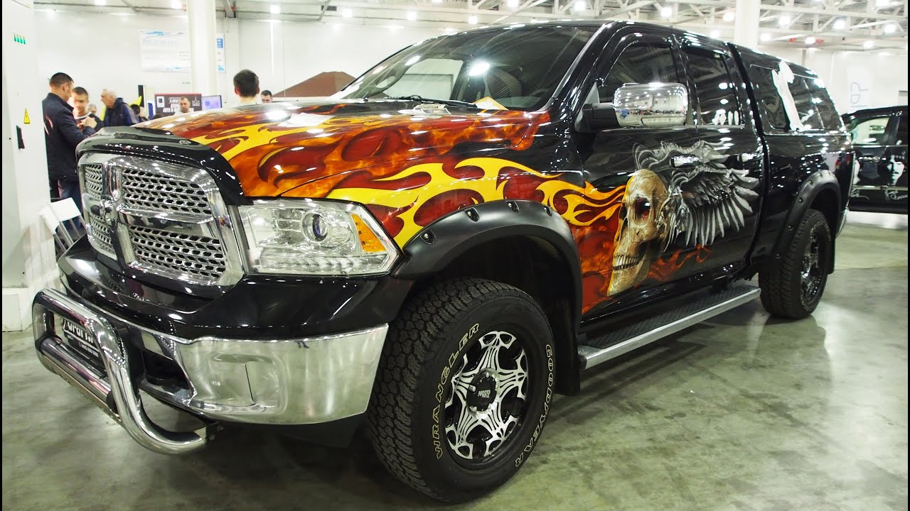 Dodge Ram 2500 4x4 Airbrush - YouTube