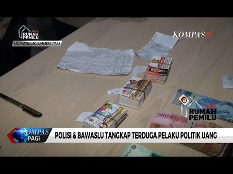 Polisi Tangkap 5 Terduga Pelaku Politik Uang, Kartu Nama Caleg Gerindra & Uang Tunai Diamankan