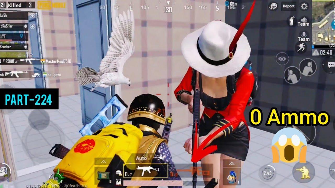 No Ammo Can I Survive This? | Squad Erangel Gameplay | Pubg Mobile - AkhiLesh YT