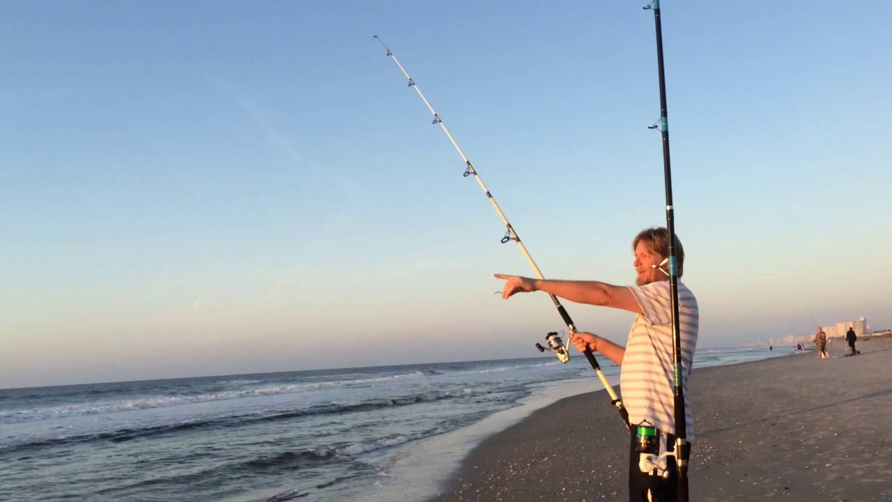 Myrtle Beach Surf Fishing