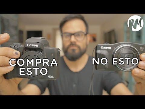 ¿Cuál es LA MEJOR CÁMARA para principiantes? — Canon EOS M50 (unboxing, review)