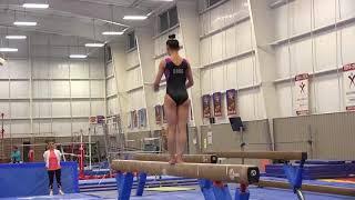 Kara Eaker - Balance Beam - 2018 Pacific Rim Championships Verification