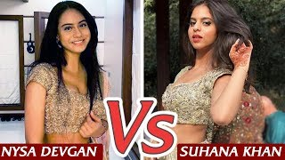 Nysa Devgn VS Suhana Khan - Starkids to Look out for in 2020