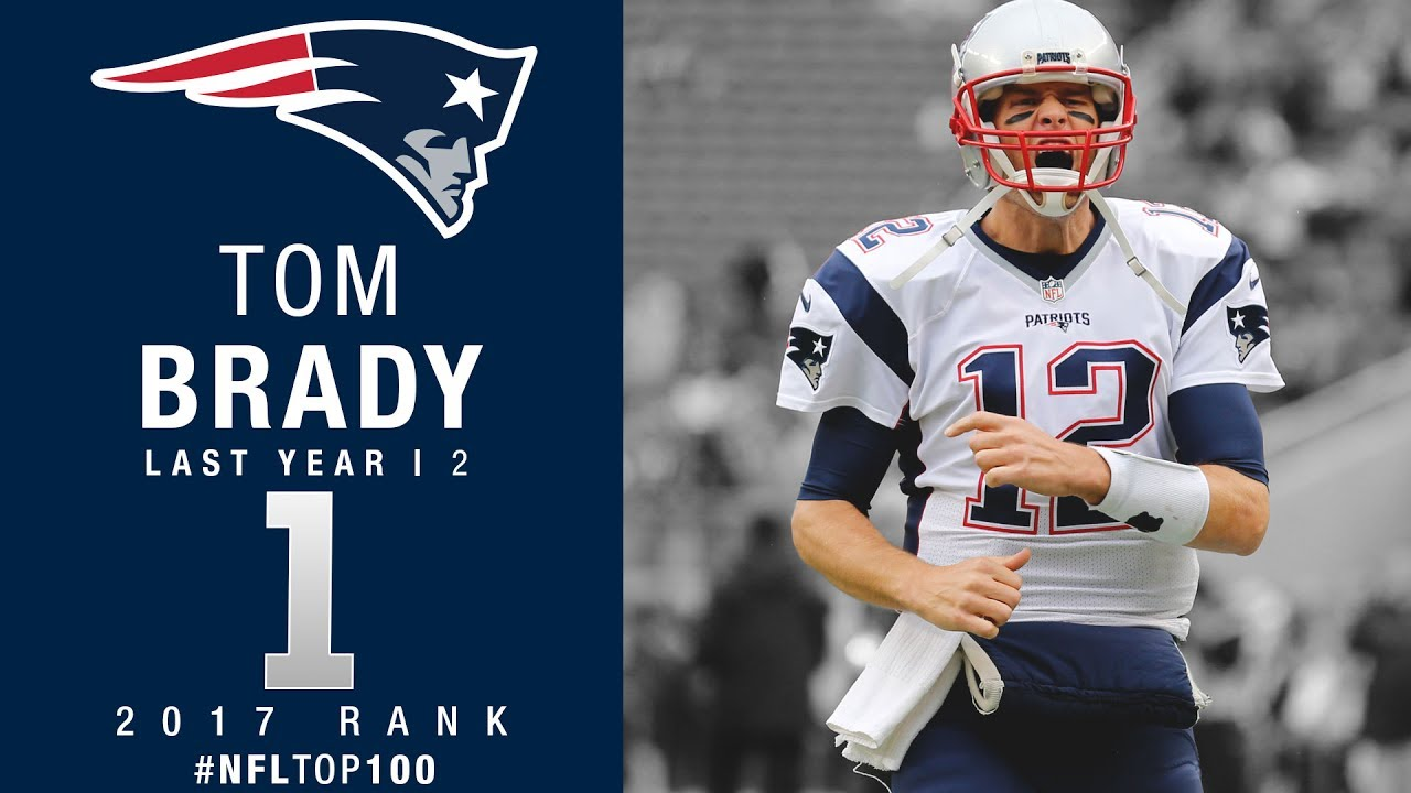 Patriots' Tom Brady voted No. 6 player in league, his lowest ranking ever in NFL Top 100