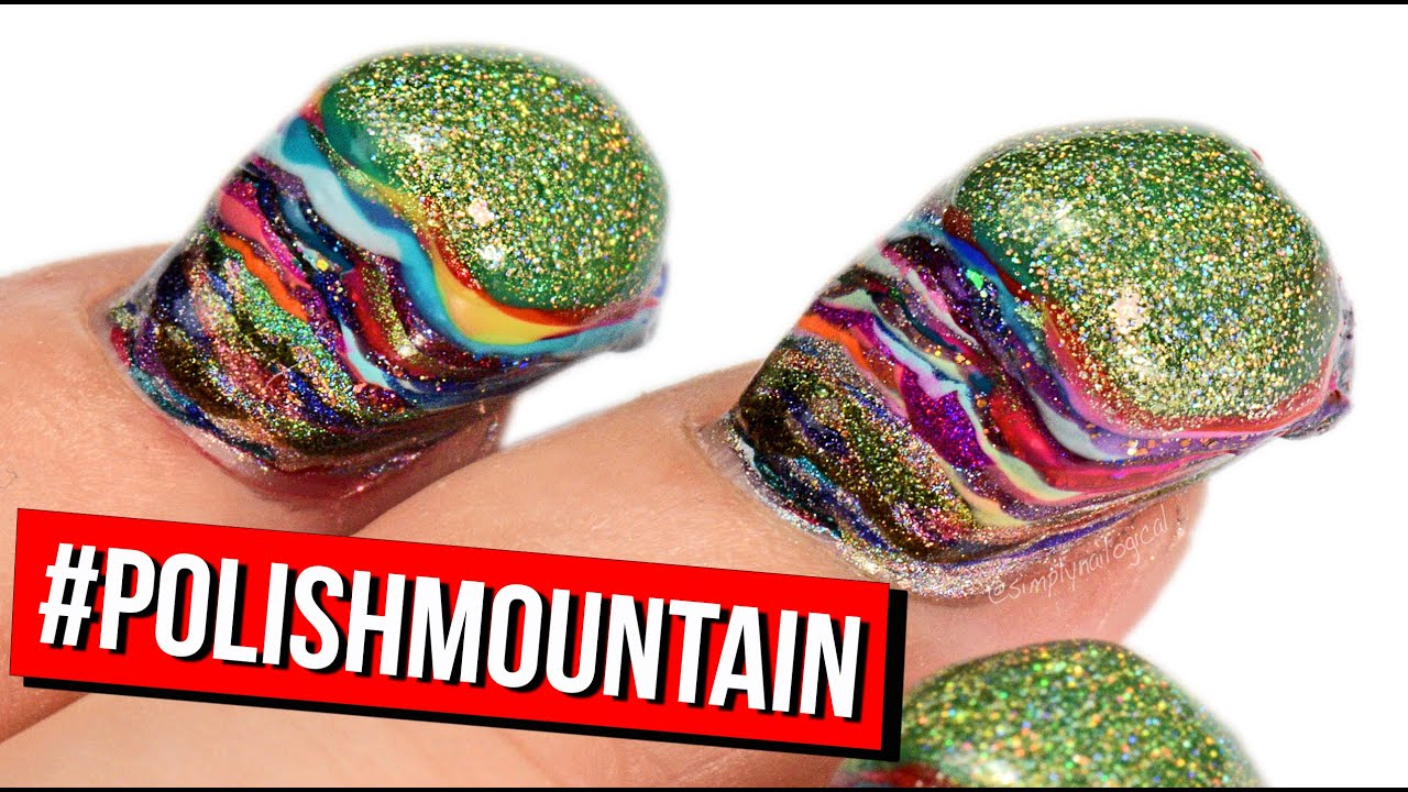 100 Coats Of Nail Polish Polishmountain Youtube
