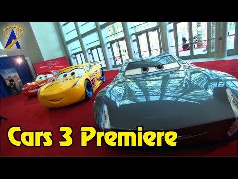 Disney•Pixar's Cars 3 red carpet movie premiere in Anaheim